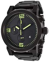 Nixon Men's Ride Ss A3471256 Stainless-Steel Quartz Watch