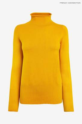 French Connection Womens Yellow Jumper - Yellow