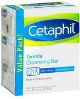 Cetaphil Gentle Cleansing Bar Value Pack