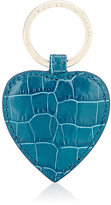 Smythson Women's Mara Heart Key Ring-TURQUOISE