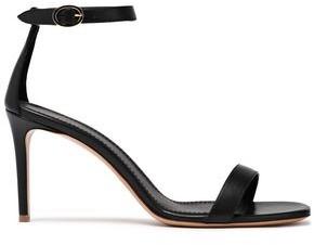 Mansur Gavriel Metallic Leather Sandals
