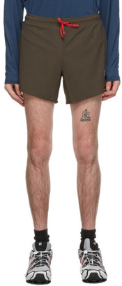 District Vision Kahki Spino 5 Training Shorts