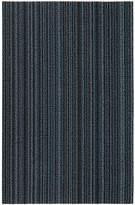 Chilewich Skinny Stripe Shag Rug - Blue - 46x71cm