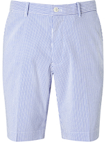 Polo Golf By Ralph Lauren Links Stripe Seersucker Shorts, Diplomat Blue