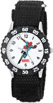 Spiderman Marvel Comics Kids' W000106 Stainless Steel Time Teacher Watch