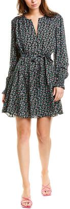 Jason Wu Mini Rose Floral Shift Dress