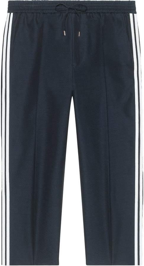Gucci Plain weave jogging pant