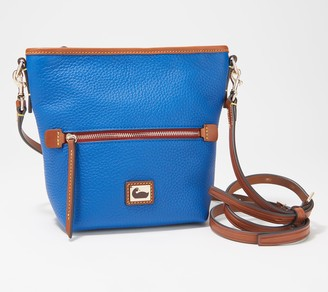 Dooney & Bourke Camden Pebble Leather Mini Hobo Crossbody