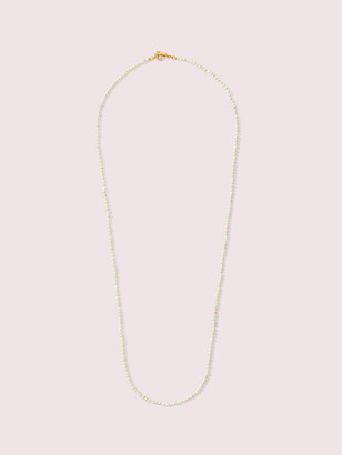 Kate Spade Pearl Drops Long Pearl Necklace