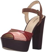 Nine West Women's Calliah Suede Platform Dress Sandal