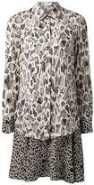 Derek Lam 10 Crosby animal print shirt dress