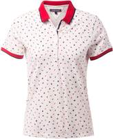 Tommy Hilfiger Dinah Print Polo Top