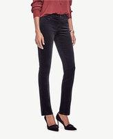 Ann Taylor Modern Skinny Velvet Jeans