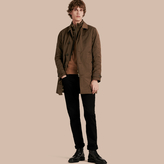 Burberry Showerproof Car Coat With Detachable Down-filled Warmer, Brown