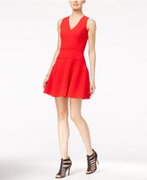 Armani Exchange Knit Fit & Flare Dress