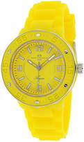 Oceanaut Acqua Womens Yellow Rubber Bracelet Watch