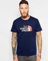 The North Face T-shirt With Easy Logo - Blue