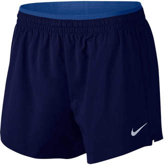 Nike Elevate Womens 5in Running Shorts Blue XS