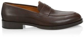 Saks Fifth Avenue COLLECTION Leather Penny Loafers