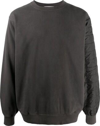 Ambush Quilted Back Sweatshirt