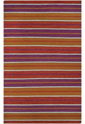 """Cordero Coral Handwoven Punch Area Rug Ebern Designs Rug Size: Runner 2'3"""" x 8'"""