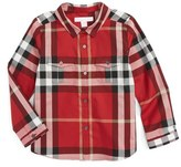 Burberry Trenta Plaid Woven Shirt (Toddler Boys)