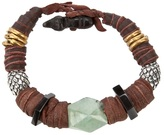 KD2024 leather beaded bracelet