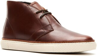 Frye Essex Genuine Shearling Lined Chukka Sneaker