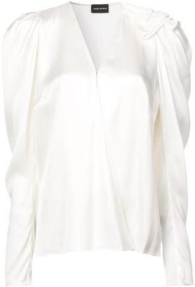 Magda Butrym V-neck blouse