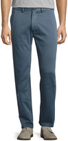 Faherty Chino Straight-Leg Beach Pants, Blue