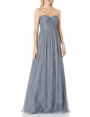 Jenny Yoo Women's Annabelle Convertible Tulle Column Dress