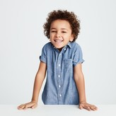 J.Crew Kids' short-sleeve chambray shirt