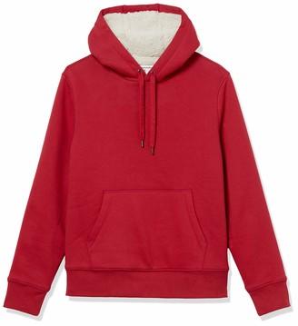 Amazon Essentials Sherpa Lined Pullover Hoodie Sweatshirt