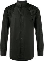Givenchy Cuban-fit shoulder strap shirt - men - Cotton/Acrylic/Polypropylene - 38