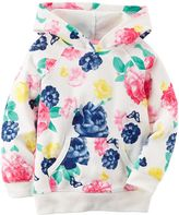 Carter's Girls 4-8 French Terry Hoodie