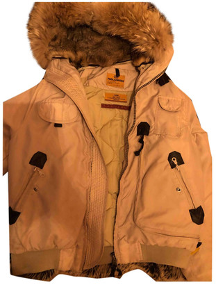 Parajumpers Beige Polyester Coats