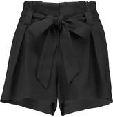 L'Agence Alex crepe shorts