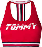 Tommy Hilfiger logo bikini top