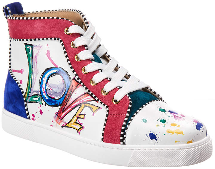 huge selection of 84113 75ef9 Love Leather & Suede High-Top Sneaker