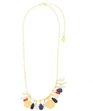 Lizzie Fortunato Heritage Pearl, Coral & Gold-plated Necklace - Multi