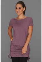 Lucy Tranquility S/S Tunic (Potent Purple Heather) - Apparel