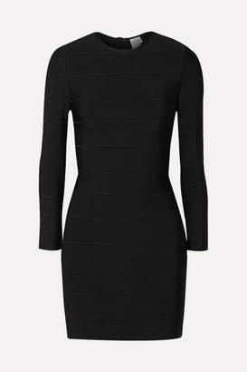 Herve Leger Bandage Mini Dress - Black