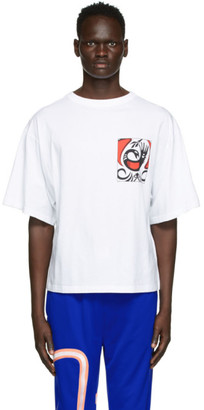 Reebok by Pyer Moss White Unisex T-Shirt