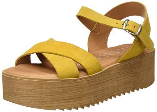6107992f04 Yellow Platform Sandals - ShopStyle UK