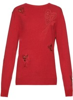 Raey Multi Heart cashmere sweater