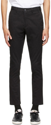 Norse Projects Black Slim Aros Trousers