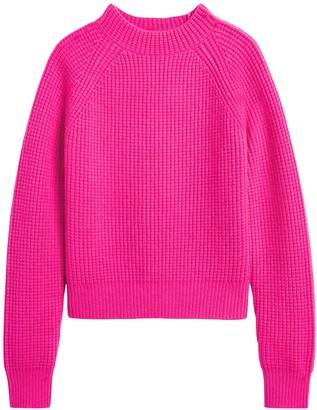 Banana Republic Cashmere Cropped Mock-Neck Sweater