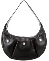 Longchamp Leather Studded Hobo