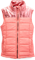 Coral Puffer Vest - Girls