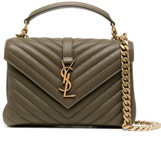 Saint Laurent leather College shoulder bag